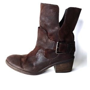 DONALD J PLINER || Brown Leather Donata Boots 7.5
